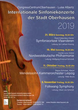 Internationale Sinfoniekonzerte 2019