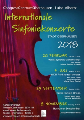 Internationale Sinfoniekonzerte 2018